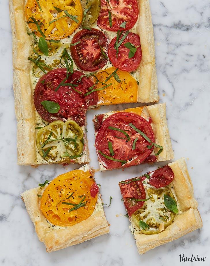 savory tomato tart recipe
