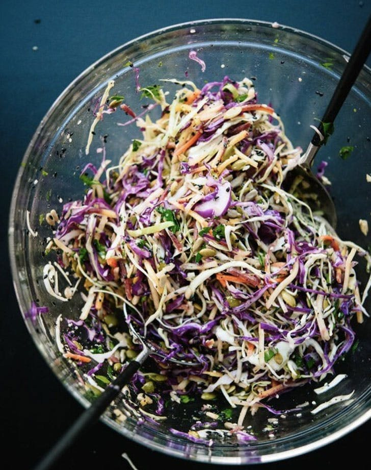 simple Seedy slaw Recipe