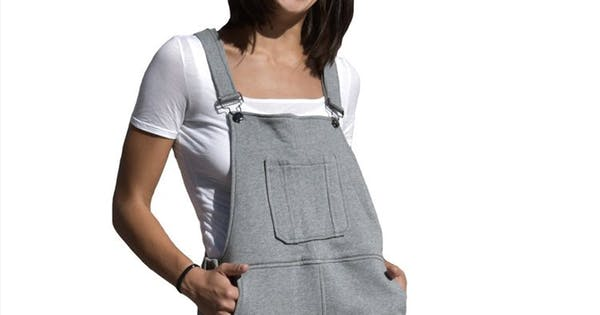 'Swoveralls' Are a Sweatpants-Overalls Hybrid...and We're Not Mad That They Exist