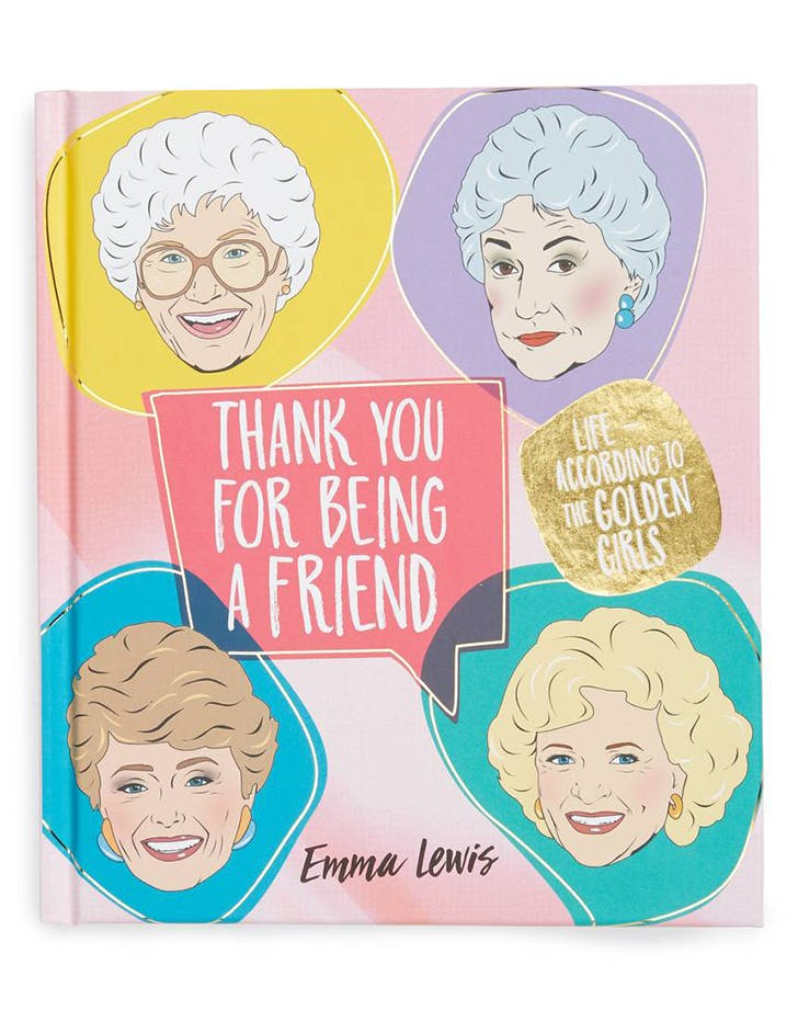 thank you for being a friend golden girls book