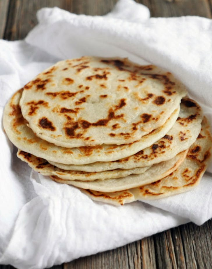 three ingredient paleo naan recipe