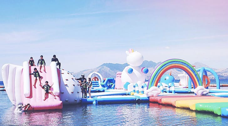 You Can Now Travel to a Giant Inflatable Unicorn Island (Yes, This Is Actually a Thing)