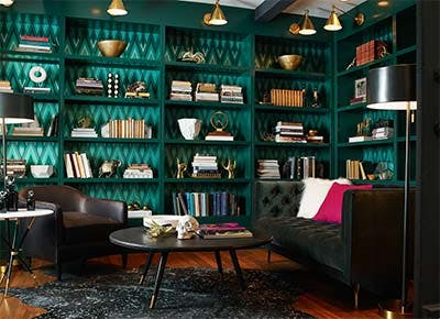 Groovy Bookshelf Styling By Zodiac Sign Purewow Download Free Architecture Designs Jebrpmadebymaigaardcom