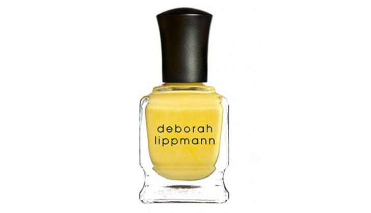 yellow nail polish by deborah lippmann