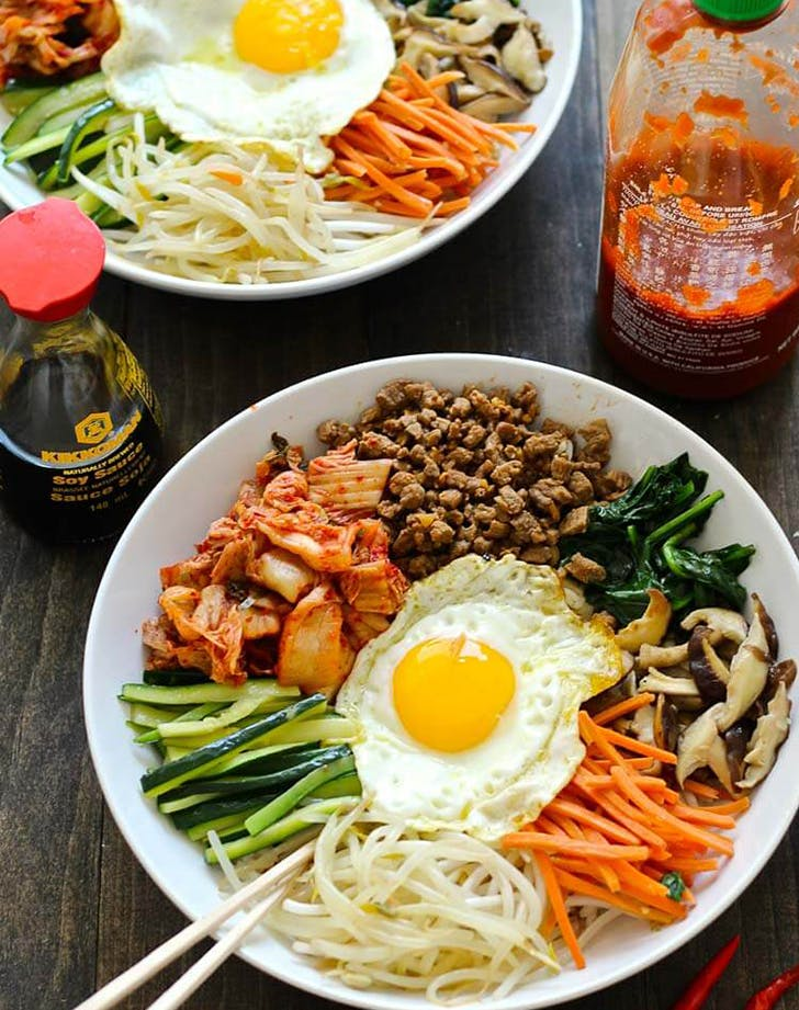 30 Minute Korean Steak Bibimbap recipe