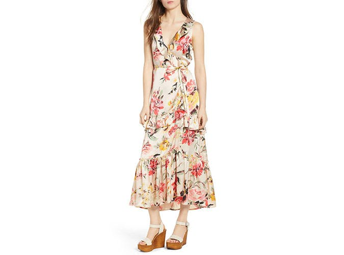 Billabong x love like summer wrap dress