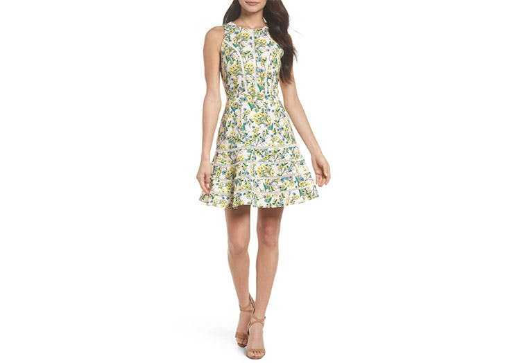 Chelsea28 Fit and Flare dress