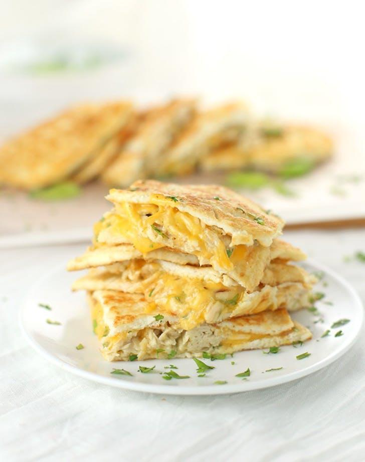 Chicken and Cheese Quesadilla keto mexican recipe1