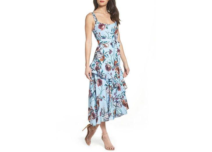 Cooper St floral midi dress