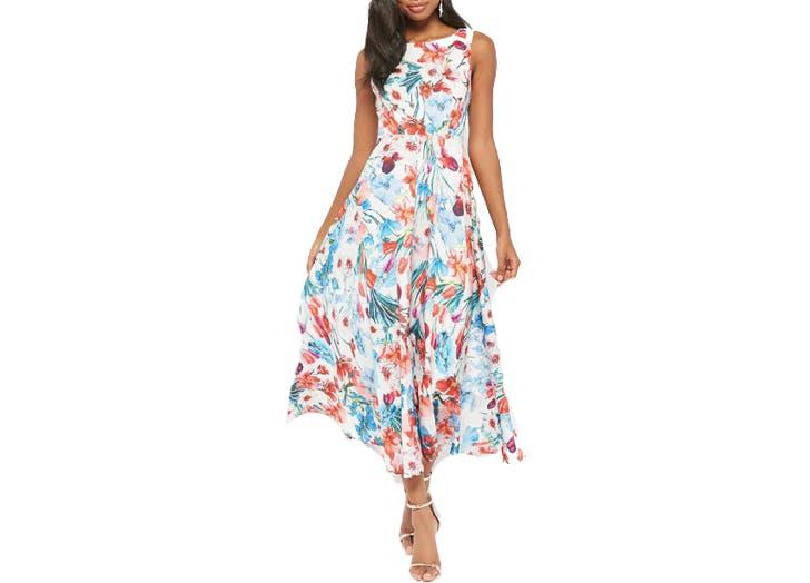Forever21 floral midi dress