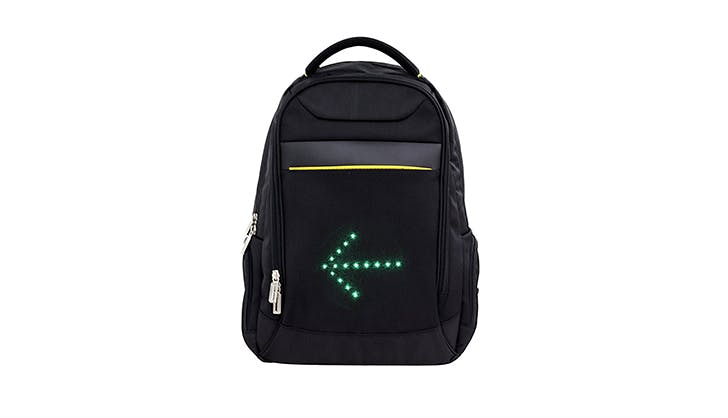 Huniu smart LED backpack