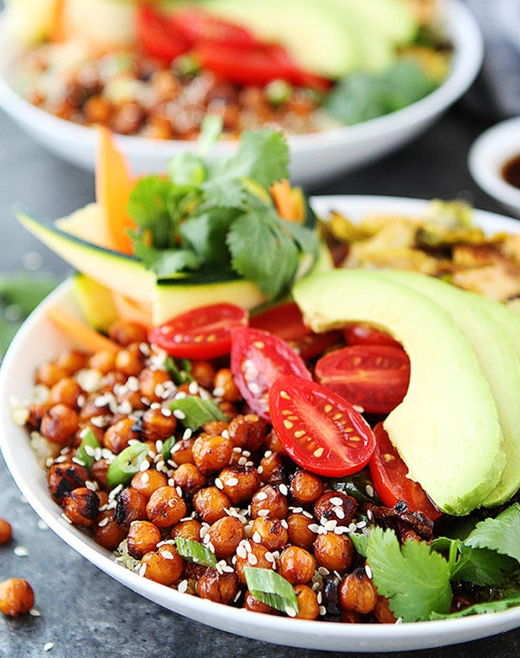 Korean BBQ Chickpea Bowls recipe