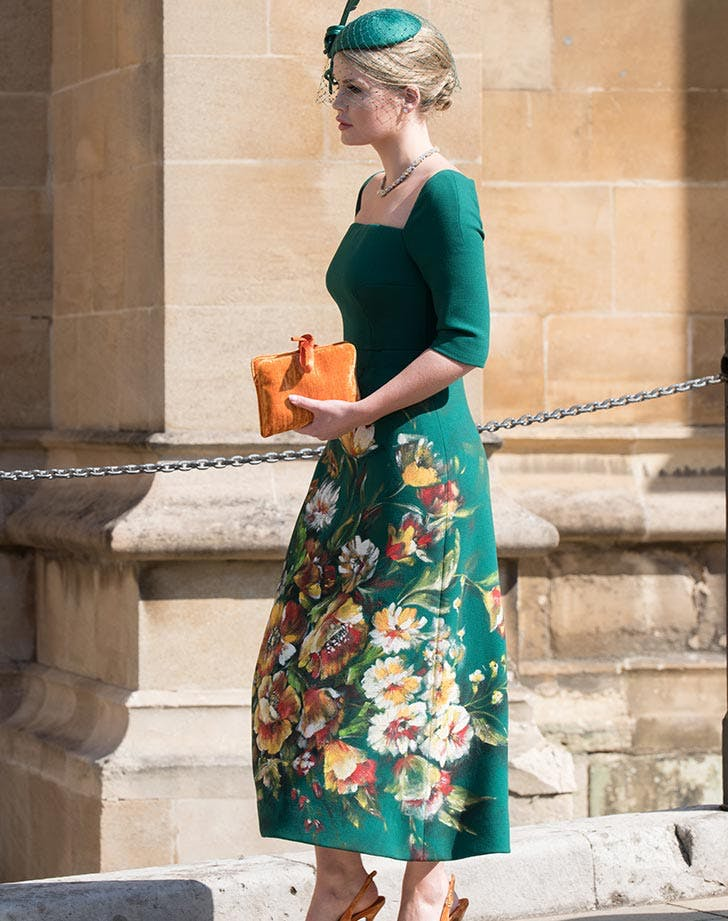 Lady Kitty Spencer royal wedding outfit