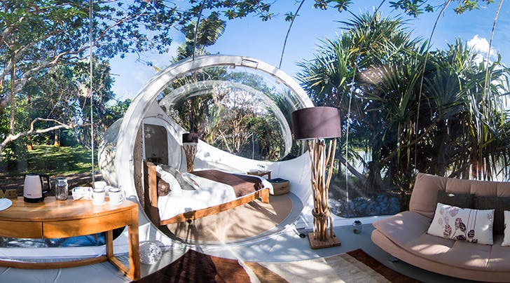 Stargaze and Wake Up to Jungle Views in This Designer, Luxury 'Bubble' Hotel