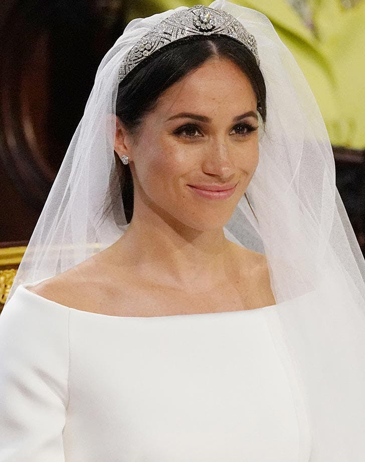 Meghan Markle boat neck wedding dress trend