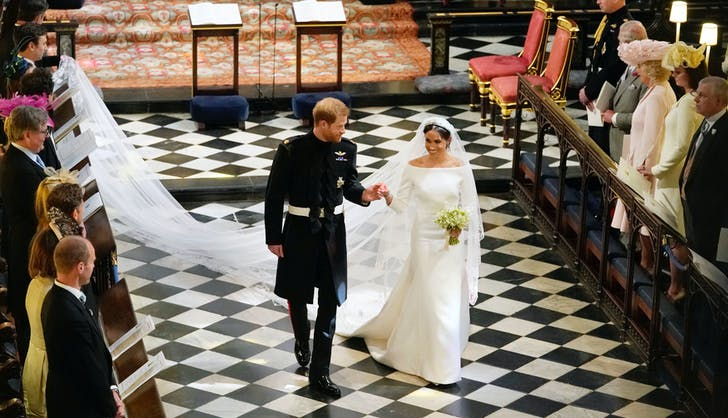 Meghan Markle Prince Harry wedding recessional