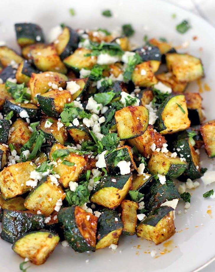Mexican Roasted Zucchini keto recipe