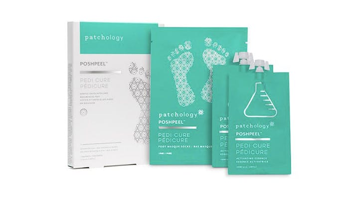 Patchology PoshPeel Pedi Cure Foot Masque Socks