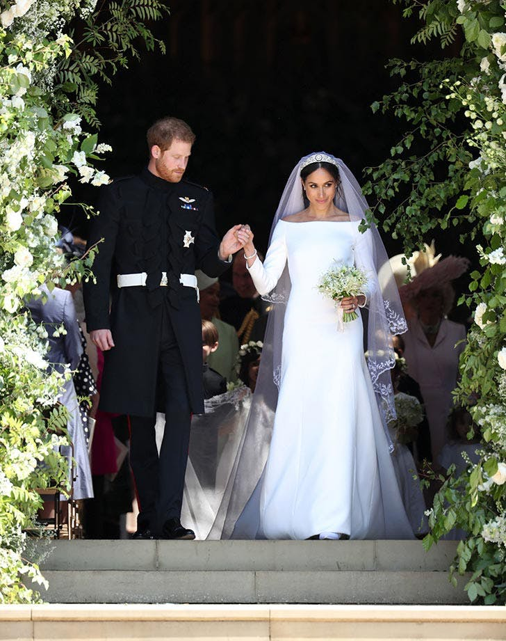 Prince Harry and Meghan Markle wedding dress look