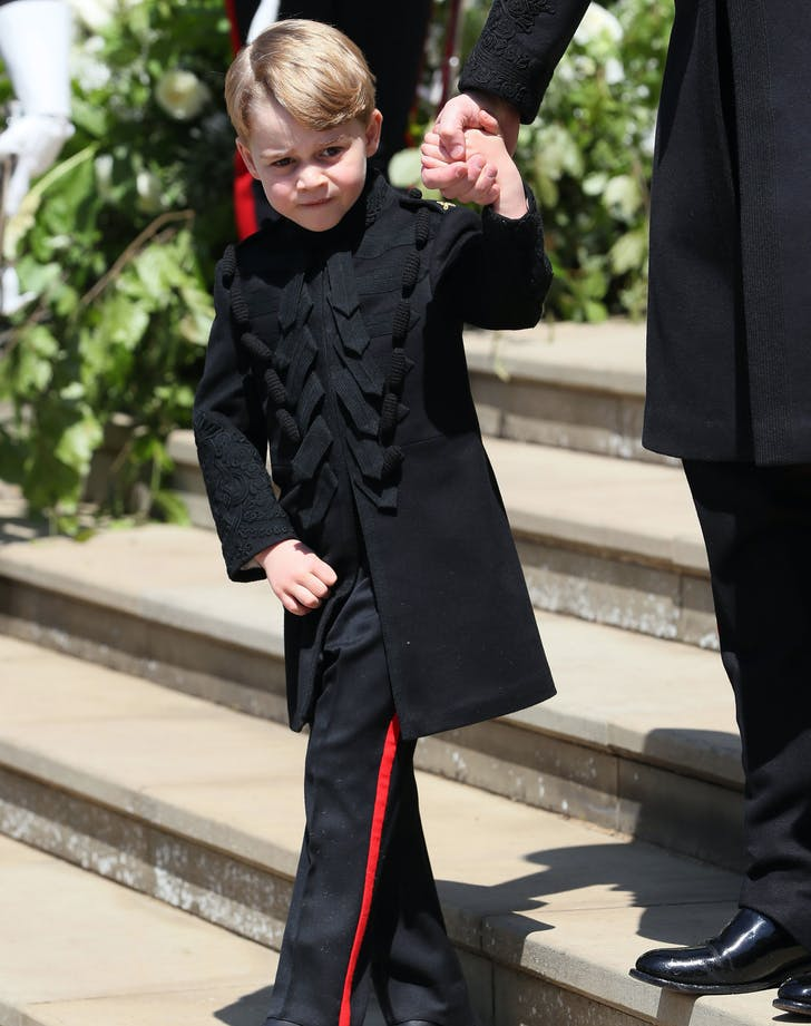 Prince George wears pants at Prince Harry and Meghan Markle s wedding
