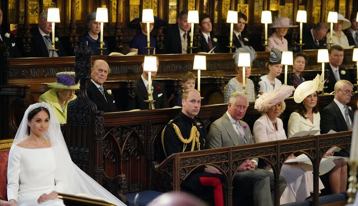 Princess Diana empty seat at Prince Harry Megha Markle wedding