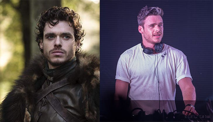 Richard Madden in Game of Thrones and Ibiza