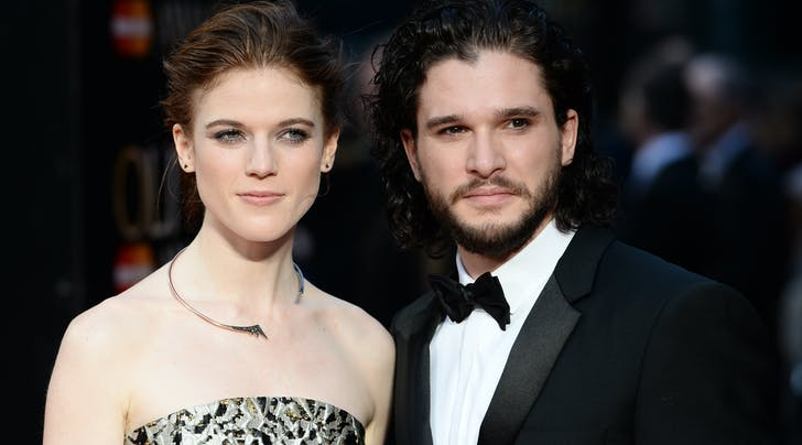 Got Stars Kit Harington Rose Leslie S Wedding Date Purewow