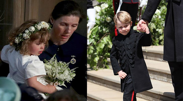 Prince George Stepped Up in the Most Adorable Way at the Royal Wedding