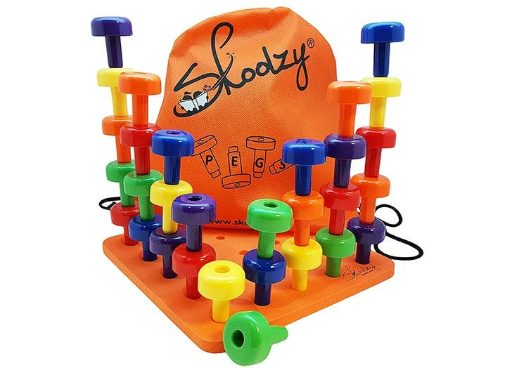 Skoolzy Peg Board Set Montessori Toy
