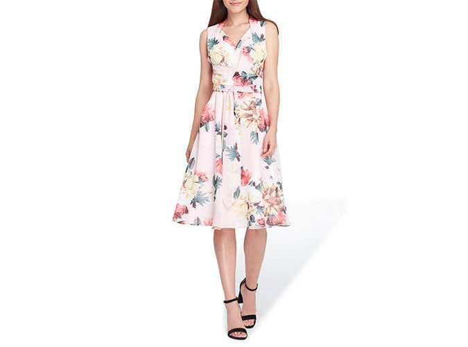 Tahari floral dress