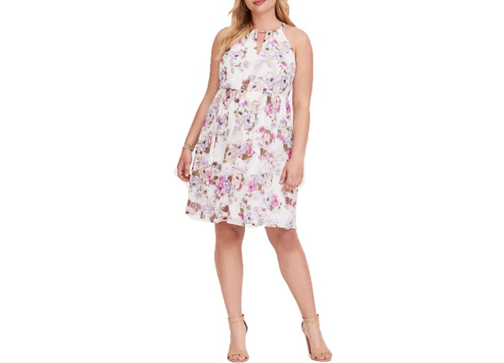 Torrid floral mini dress