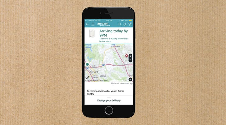 The Future Is Here: You Can Now Track Your Amazon Package on a Map Like an Uber