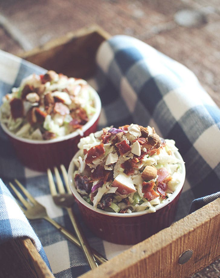 apple bacon cole slaw