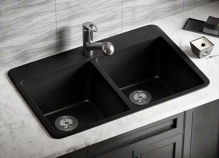 black sink trend
