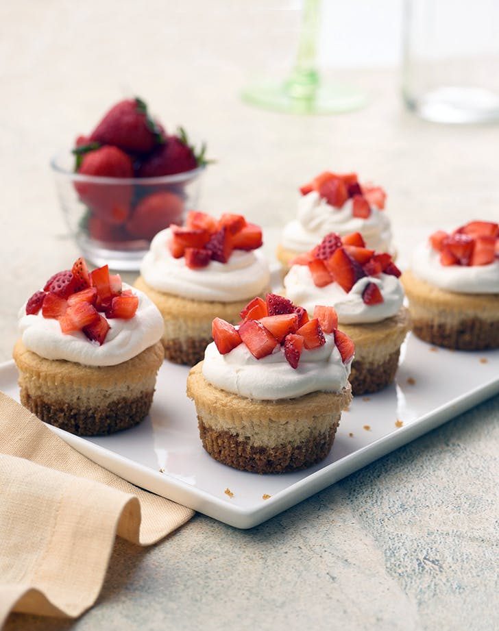 Cheater's Vegan Strawberry Shortcake Cups