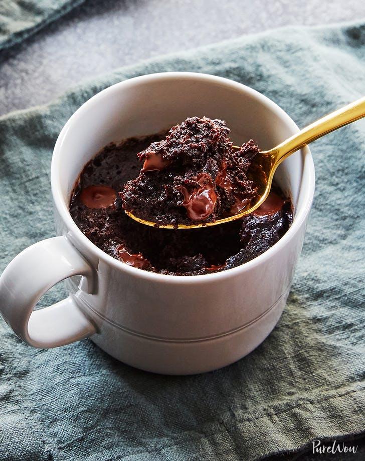 Chocolate-Chip Mug Brownie for One