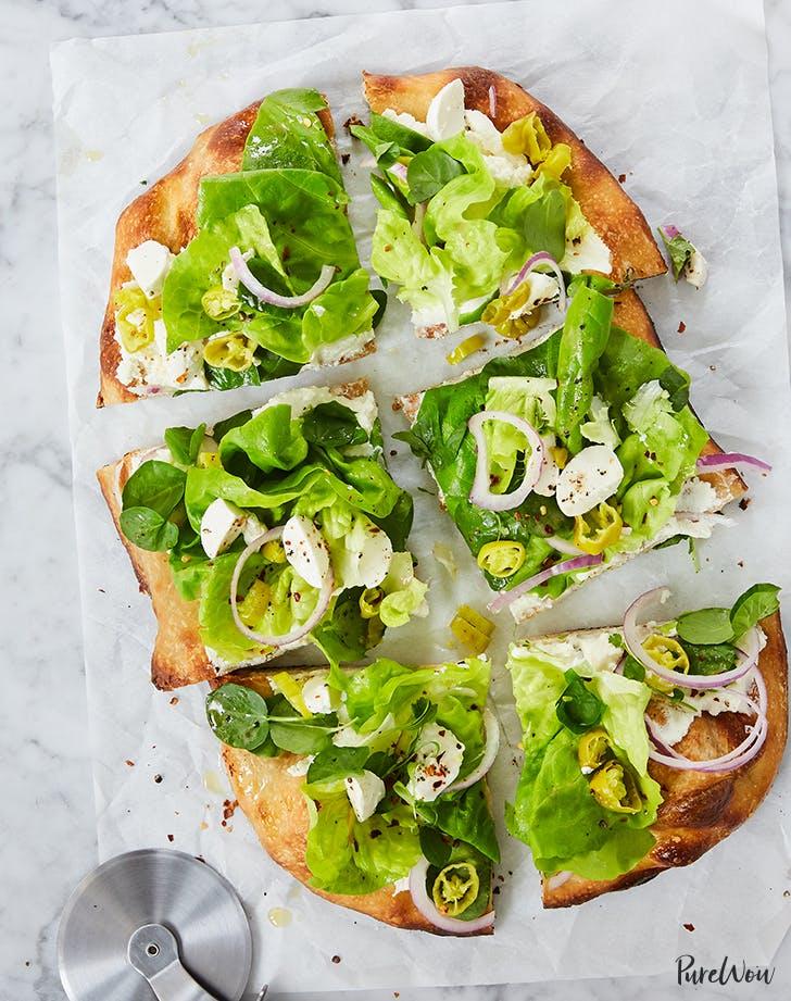 chopped italian flatbread pizza recipe