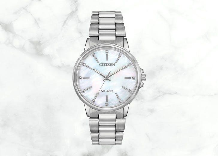 citizen chandler watch silver