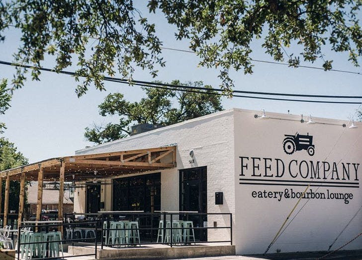 feed company dallas outdoor seating