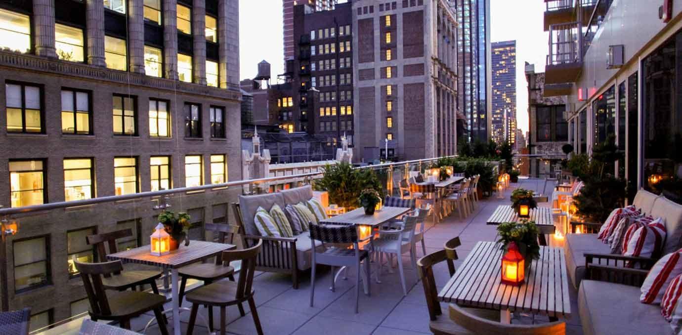 fifteen stories rooftop mondrian hotel nyc