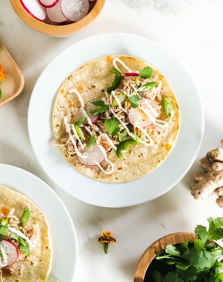 five spice chicken tacos recipe
