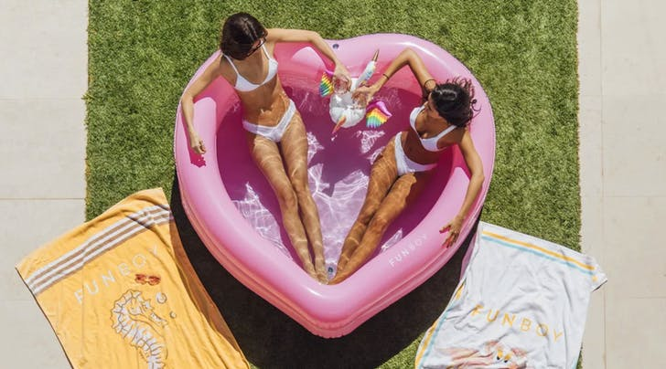 Grown-Up Inflatable Pools Exist...and Theyre Actually Really Cute (Read: Instagram-Worthy)