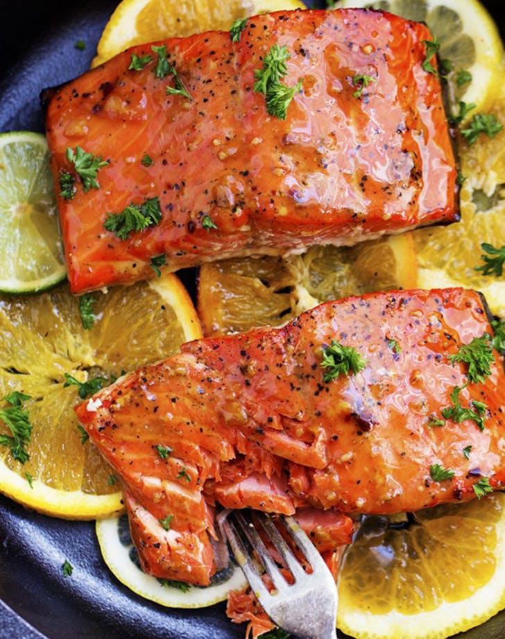 grilled triple citrus salmon recipe
