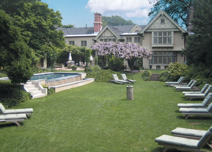 hamptons the baker house lawn chairs pool list