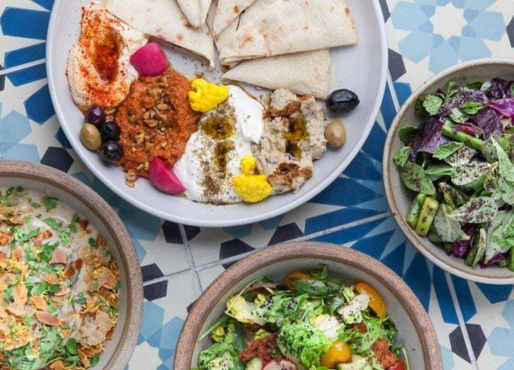hummus salads dyafa list