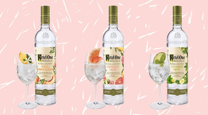 Ketel One Just Launched Diet Vodka (and the Flavors Sound Like They Could Be LaCroix)