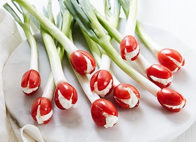 ketogenic cherry tomato boursin tulips recipe 290