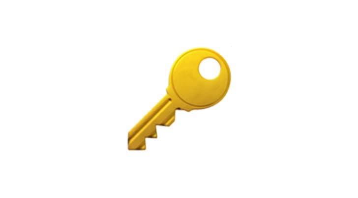 key emoji