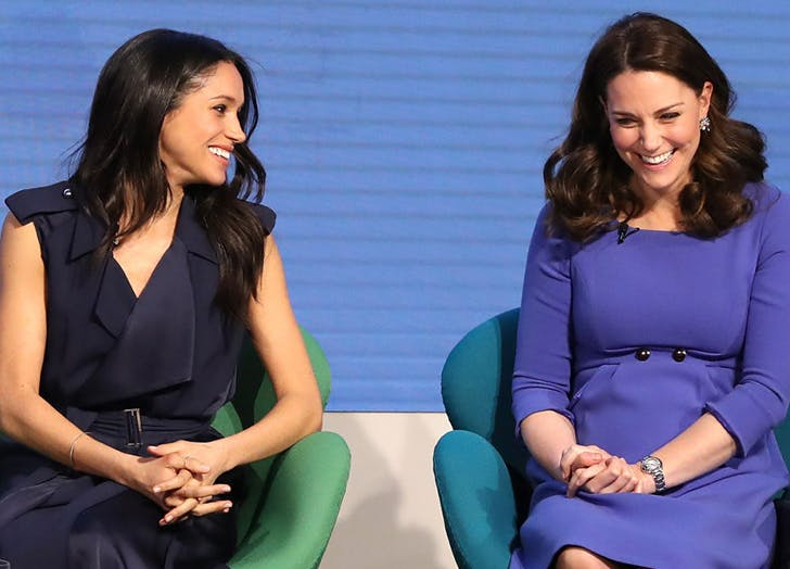 Today in Royal Etiquette, Explained: Why Does Meghan Markle Have to Curtsy to Kate Middleton?