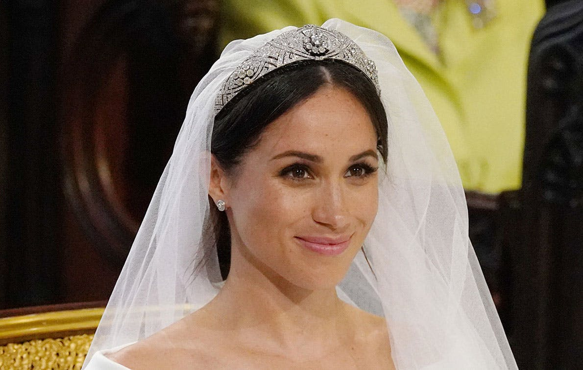 *This* Hidden Detail From Meghan Markle's Wedding Veil Will Blow Your Mind